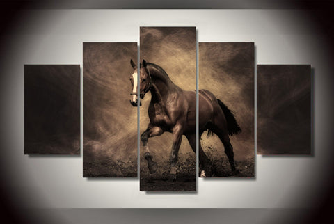 Limited Edition The Lonely Horse Canvas