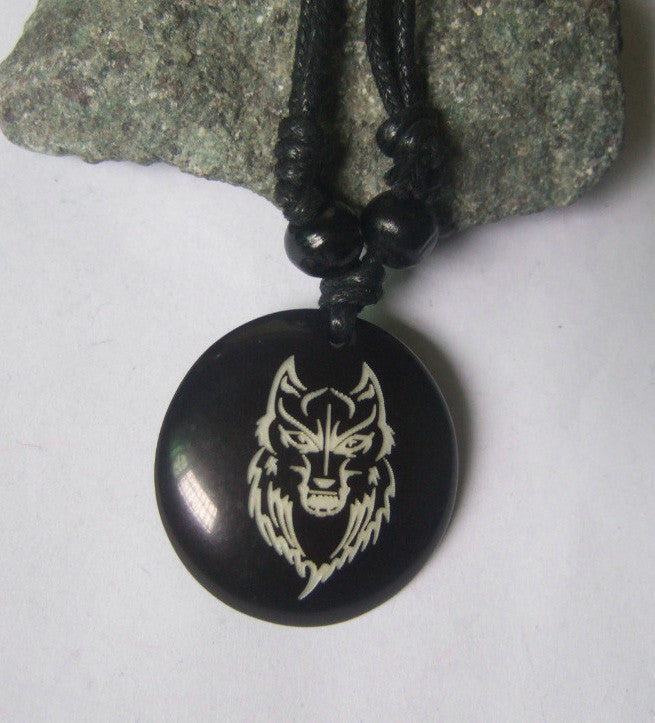 Wolf Adjustable Necklace