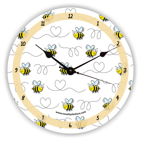 Busy Bees General Novelty Gift Clock