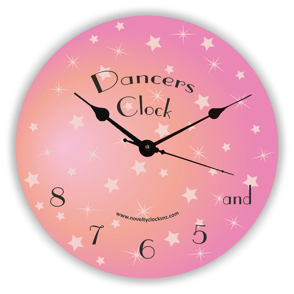 Dancers Clock Novelty Gift Clock