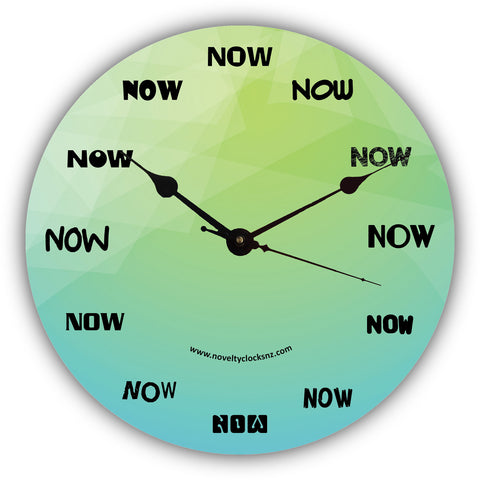 Now Humour General Novelty Gift Clock