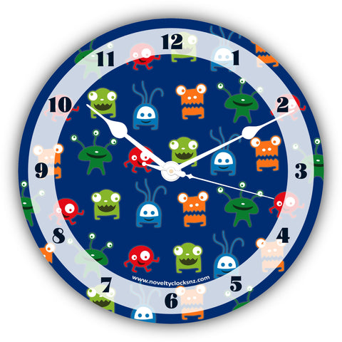 Outer Space Children Novelty Gift Clock