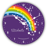 Rainbow Children Novelty Gift Clock