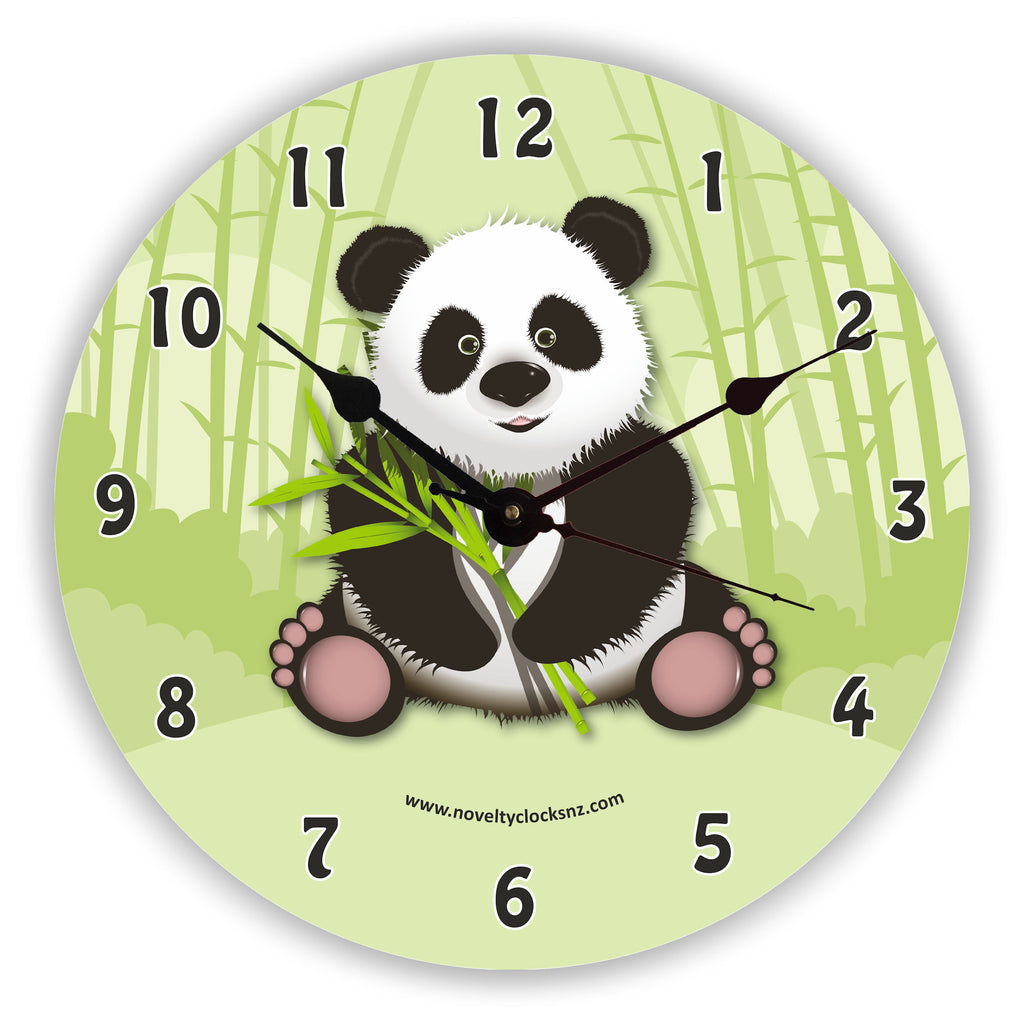 Su Lin Panda Children Novelty Gift Clock