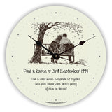 Wedding Anniversary General Novelty Gift Clock