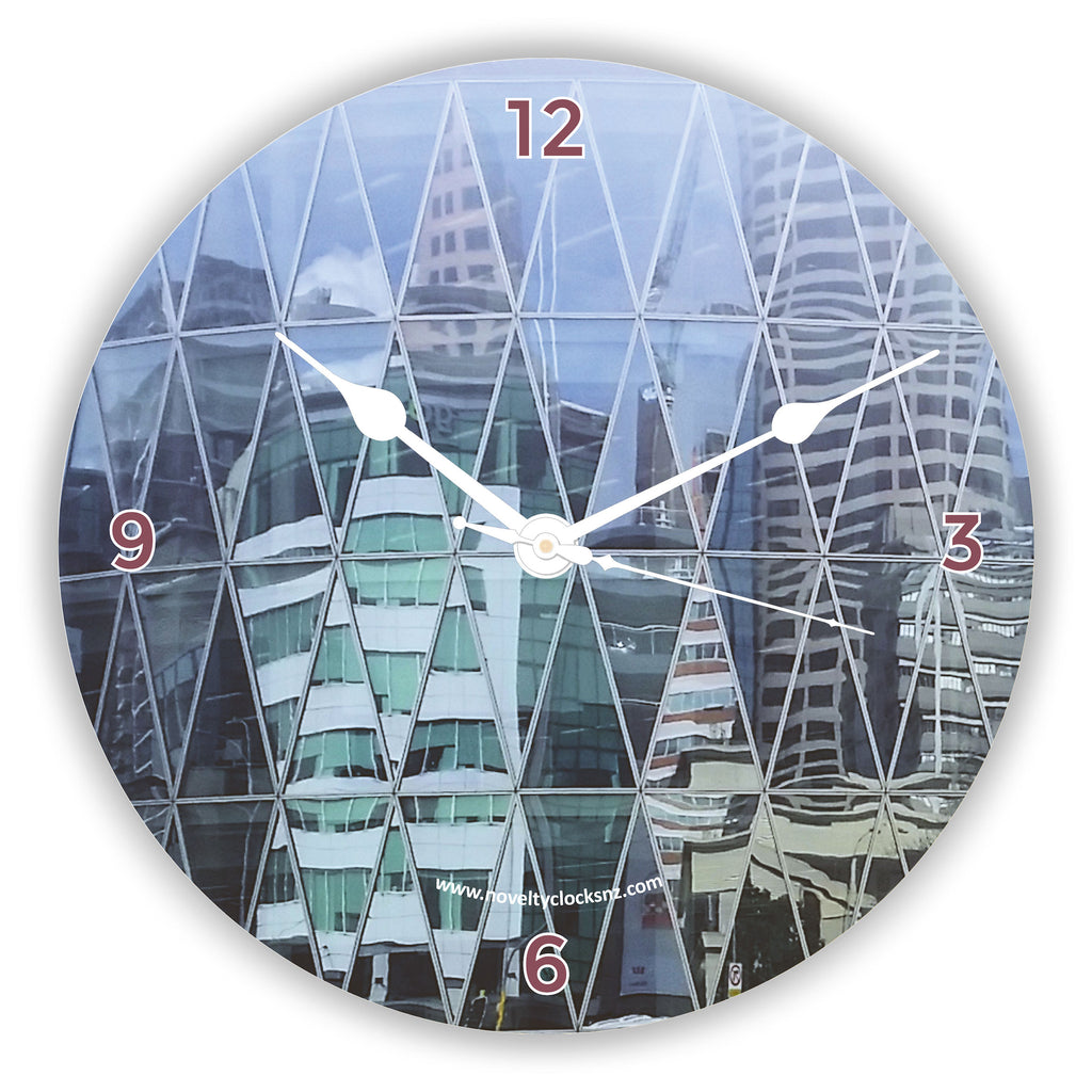 Windowscape General Novelty Gift Clock