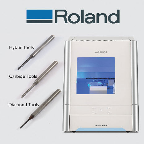 PREMIUM Roland Ball Diamond Coated Ball Tool