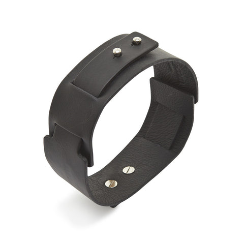 Big Bess Choker Black leather