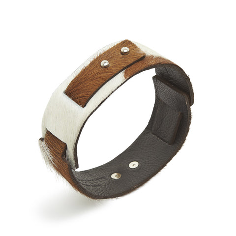 Big Bess Choker Brown cowhide