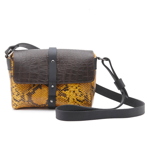 Alex Satchel Dark Brown Leather