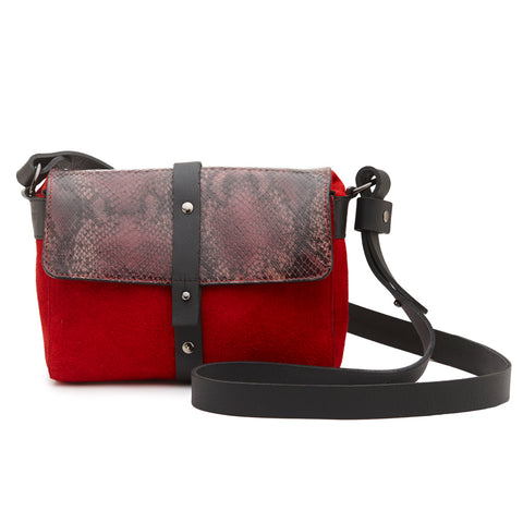 Sophia Boxy Satchel Brown Cowhide