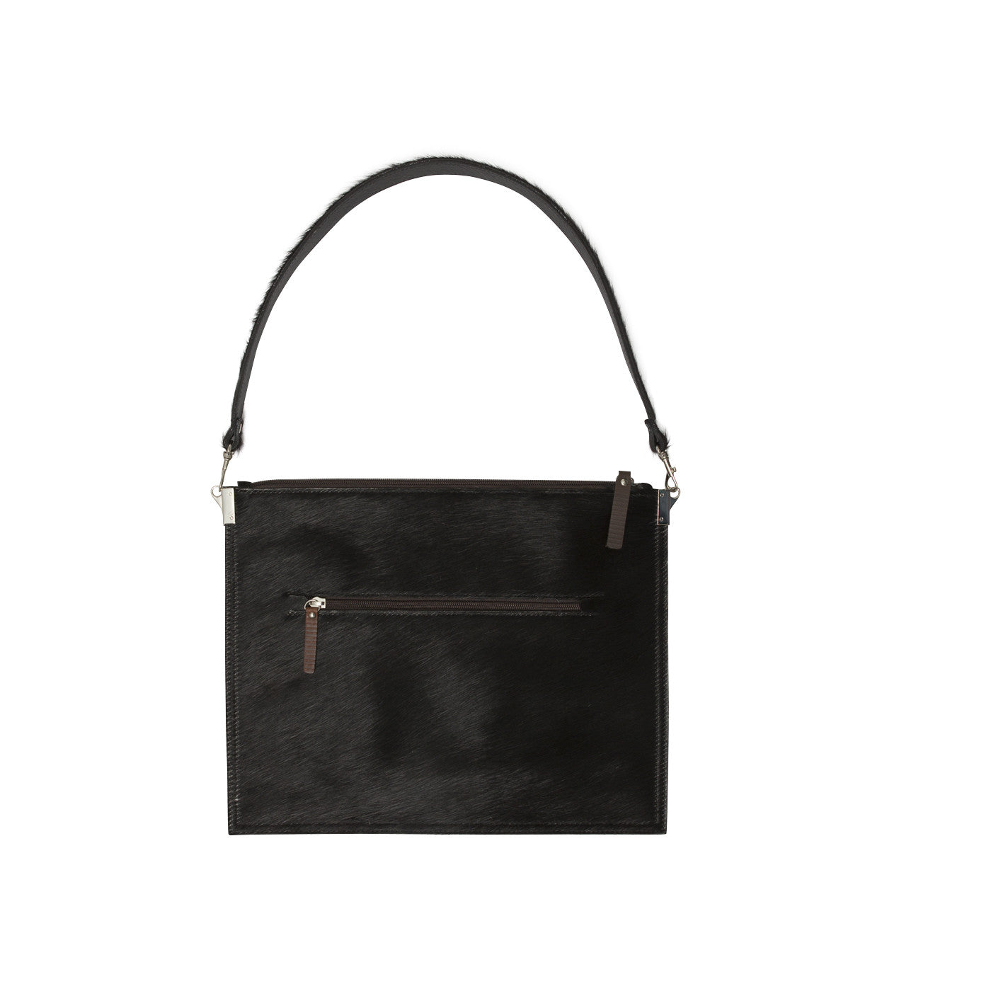 Annette Pouch Black Cowhide NEW