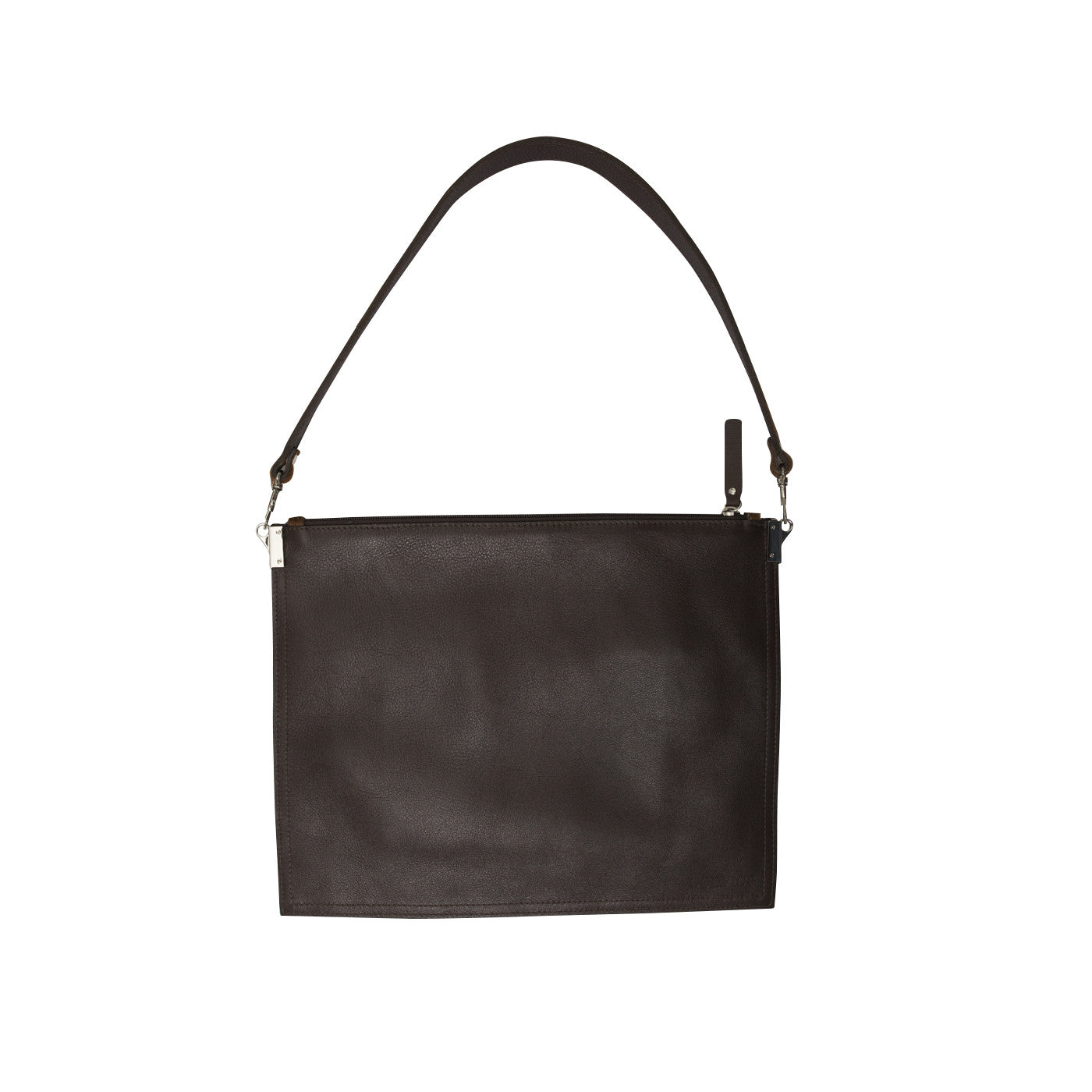 Annette Pouch Brown Cowhide