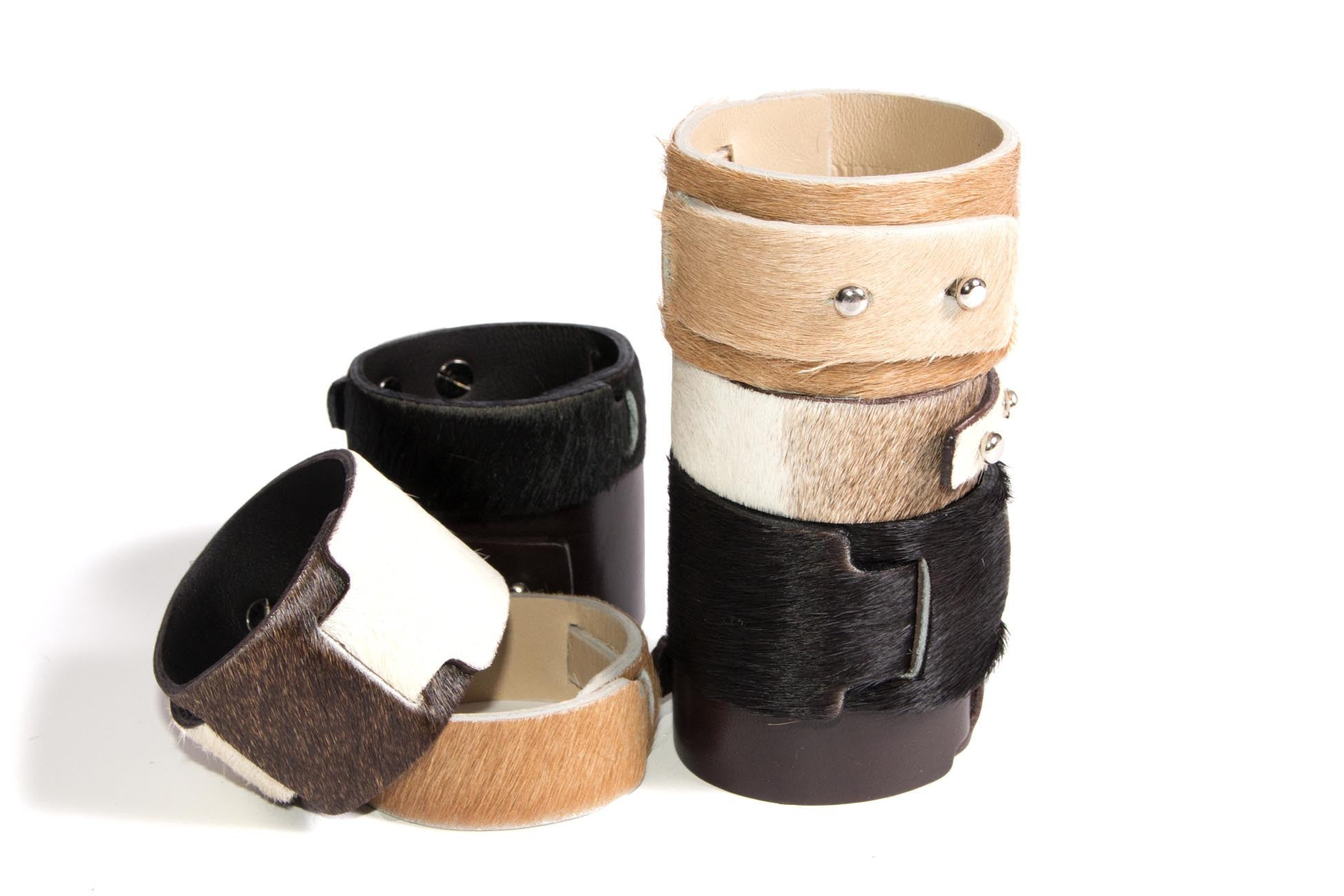 Little Bess Cuff Brown Cowhide