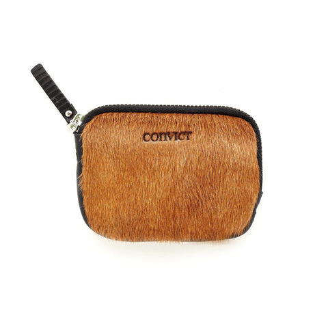 Sarah Coin Purse Black Cowhide