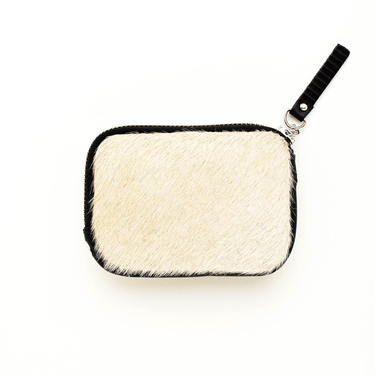 Sarah Coin Purse Beige Cowhide