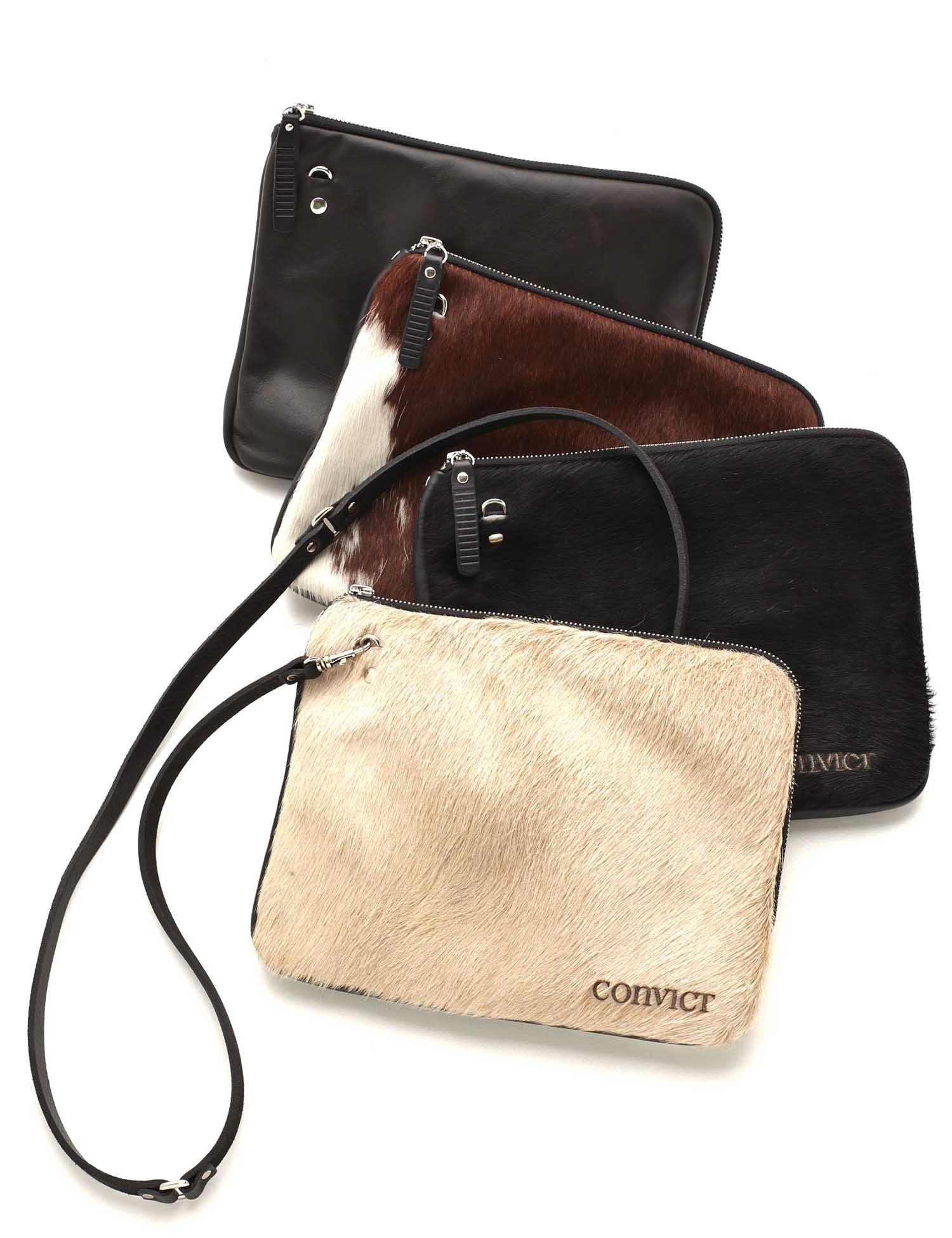 Grace Soft Cross Body Black Cowhide