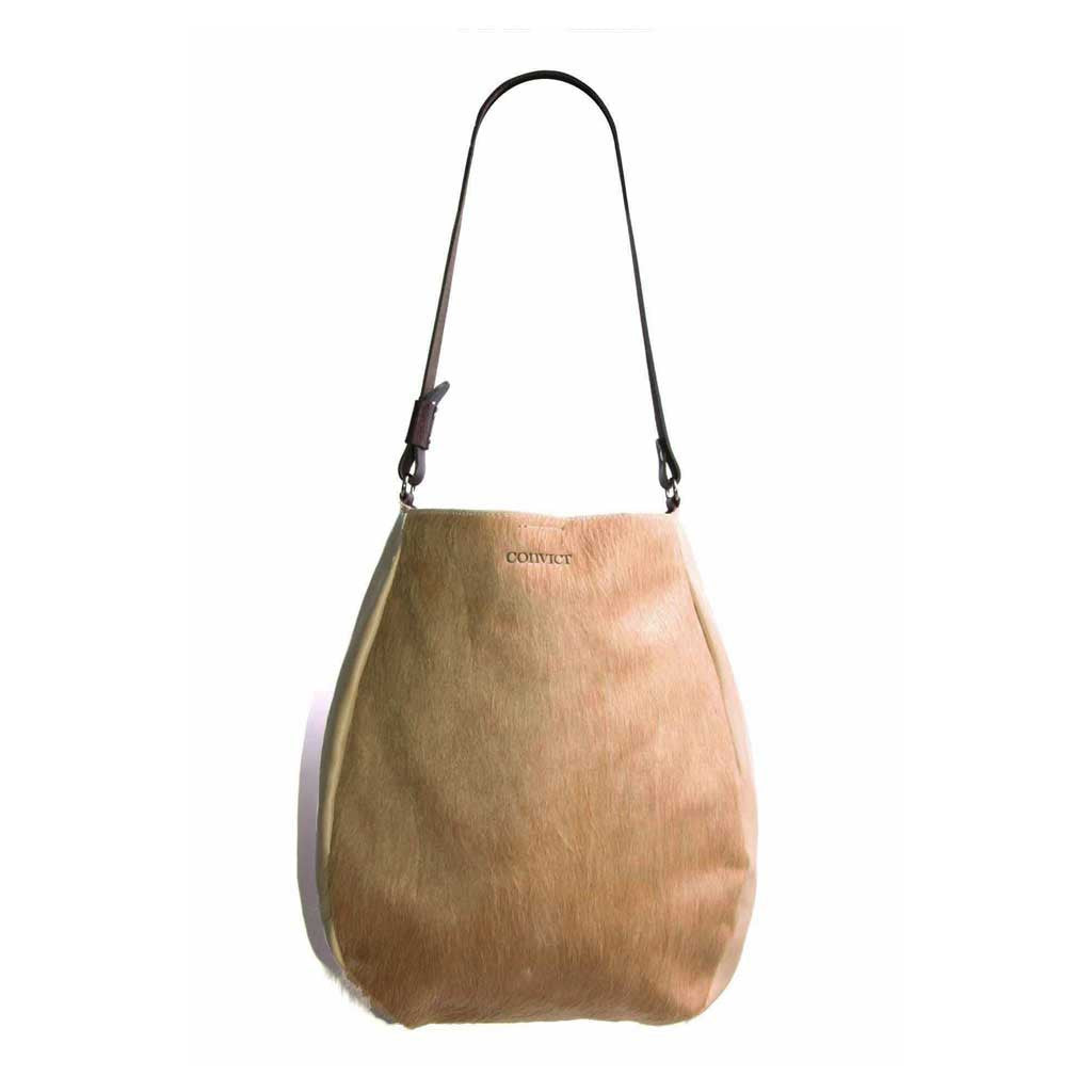 Jane Tote Beige Cowhide  OUT OF STOCK