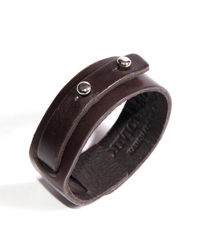 Little Bess Cuff Black Cowhide