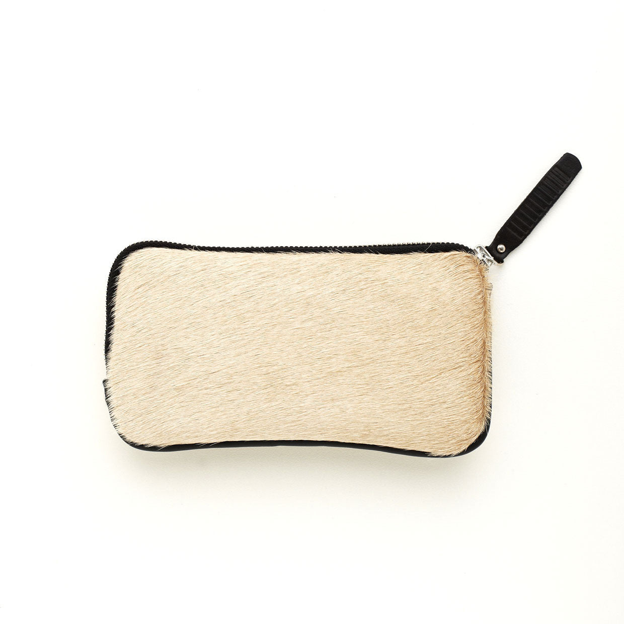 Esther Wallet Beige Cowhide