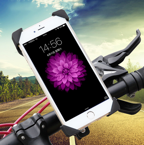 New Universal 3.5-7 Inch Bike Phone Holder