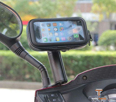 "Motorcycle Waterproof Touchable Case Bag For iPhone 5 6 3""-5.5"" for samsung"