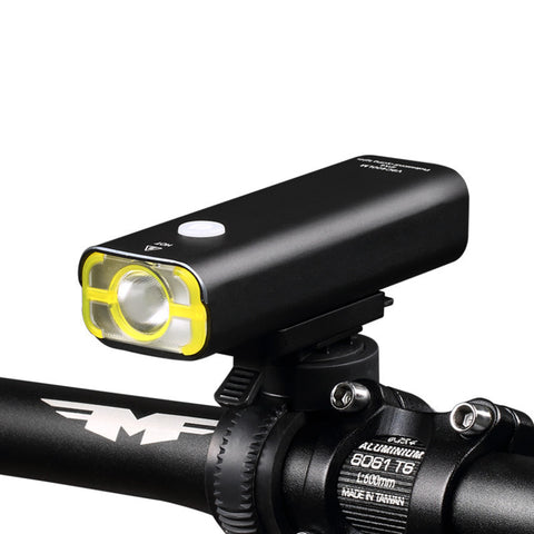 USB Rechargeable Bike Front Flashlight Headlight