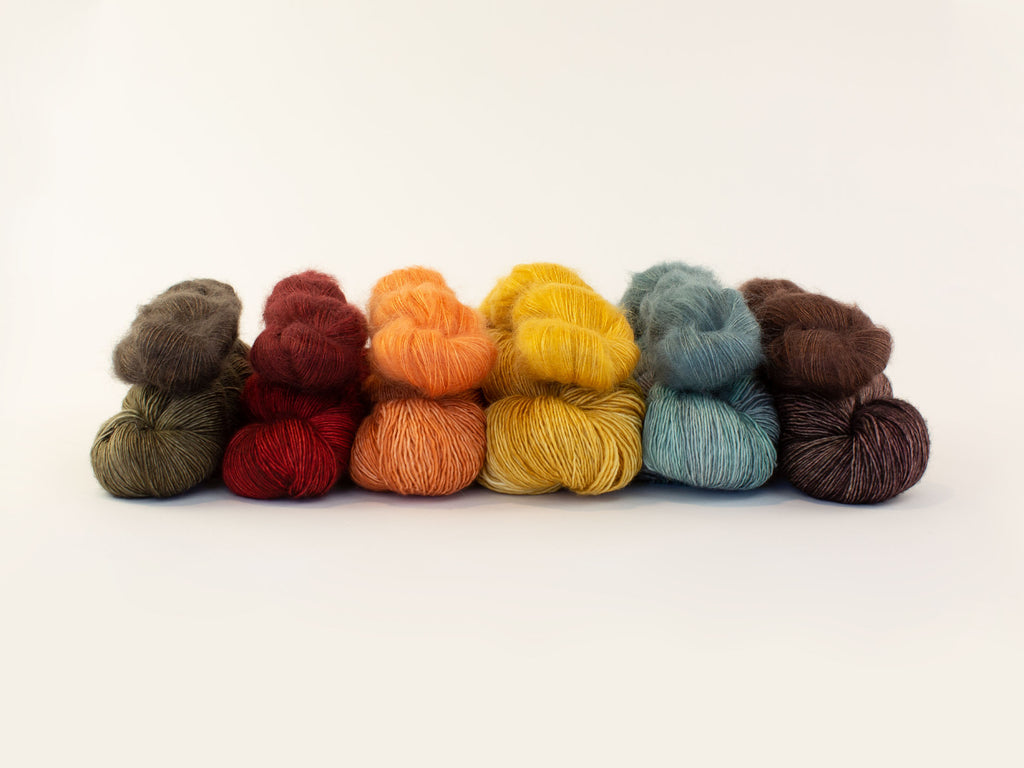 Madelinetosh X Shibui Knits Collaboration Collection