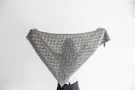 """Some Time Alone Shawl"""