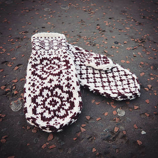 My First Colourwork Mittens