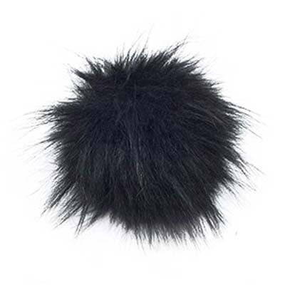 Snap On Pompom Natural