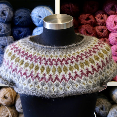 Colourwork Yoked Pullover