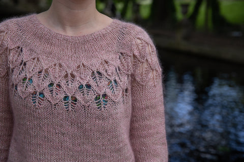 Love Note - A Sweet Little Lace Sweater