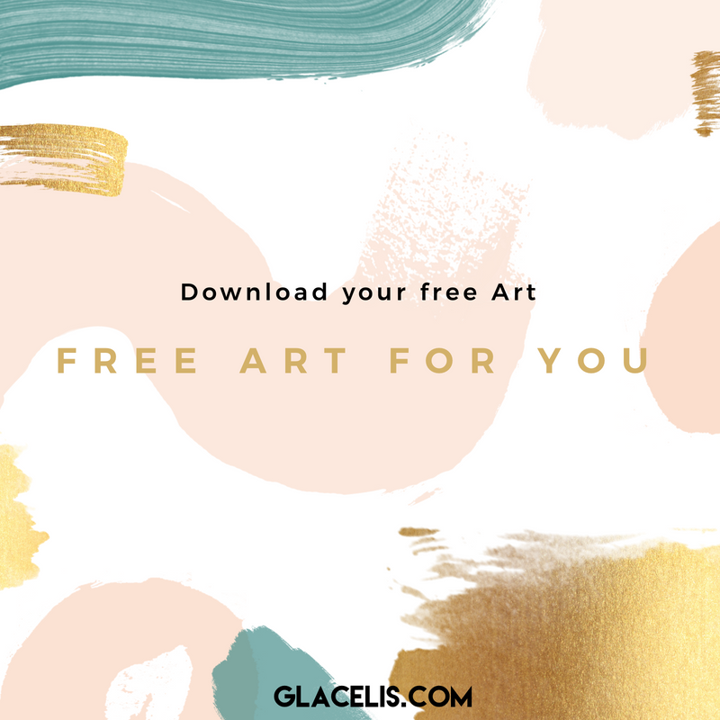 Download your art for free! this is a gift for you from glacelis.com