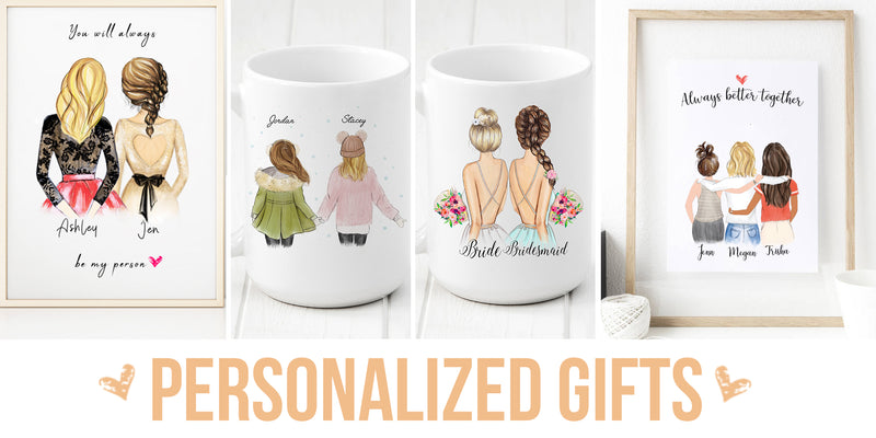 5 Awesome Personalized Gifts for Your Best Friends at Glacelis