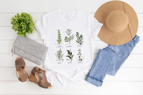 Botanical tee you'll look and feel amazing in this tee and i'm sure ) glacelis, t shirt  for ladies