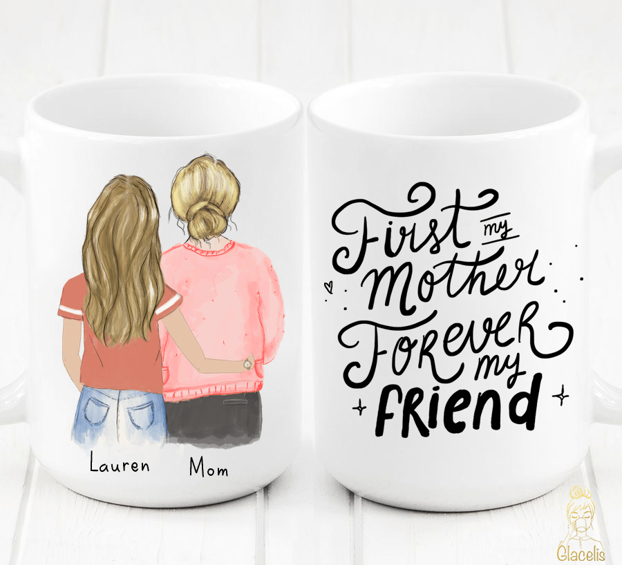 Personalized Mother and Daughter Mug 2020