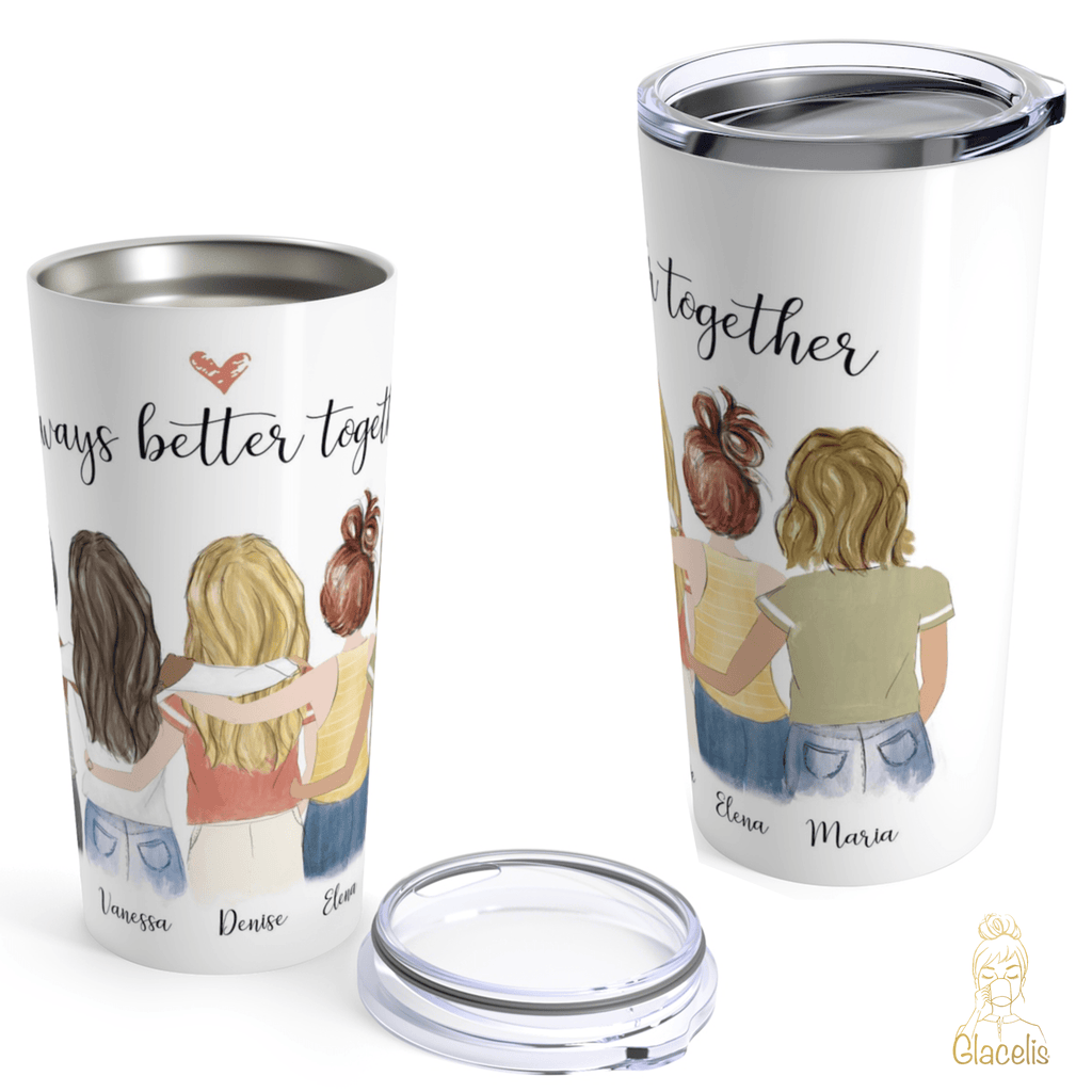 Six Friends Travel Mug