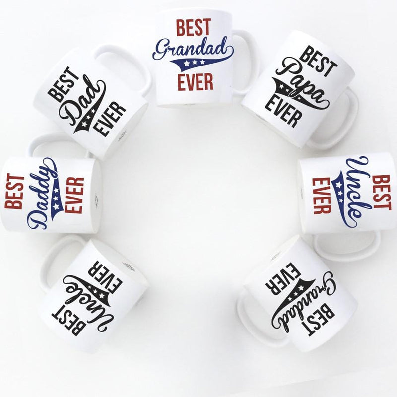 BEST DADDY  EVER MUG - Custom Personalized Gifts for friends, Family & special occasions!
