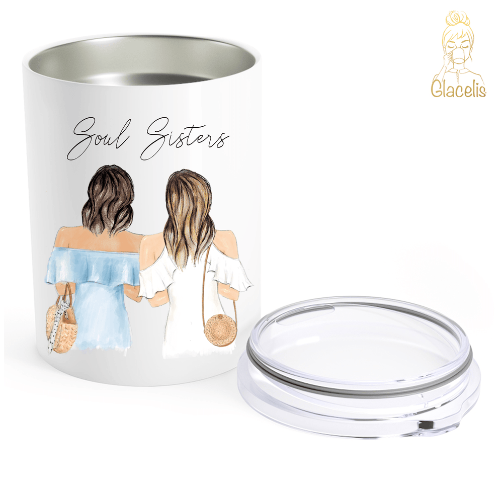Personalized Soul Sisters Travel Mug