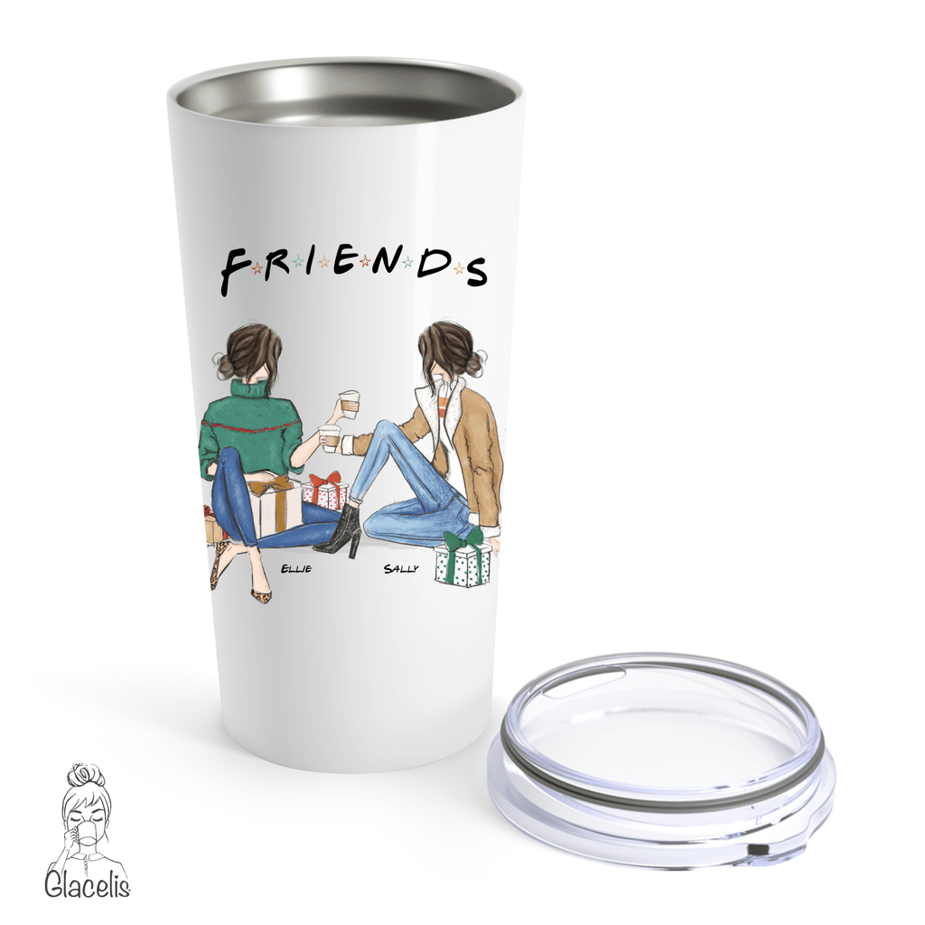 Personalized Friends Travel Mug