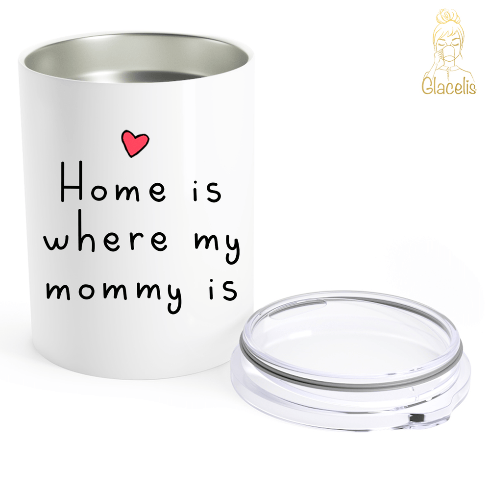 Personalized Daughter and Mom Travel Mug
