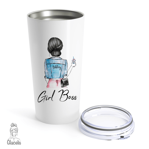 Girl Boss Travel Mug