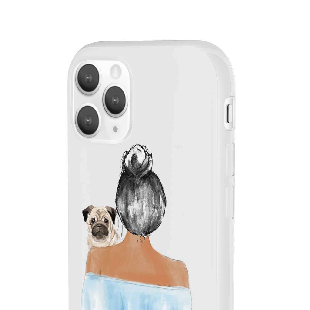 Custom Flexi Case Dog Mom