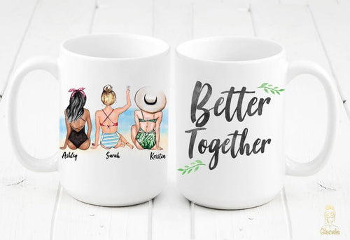 Stay Salty - Unique Friendship Gift - Mug - Custom Personalized Gifts for friends, Family & special occasions!