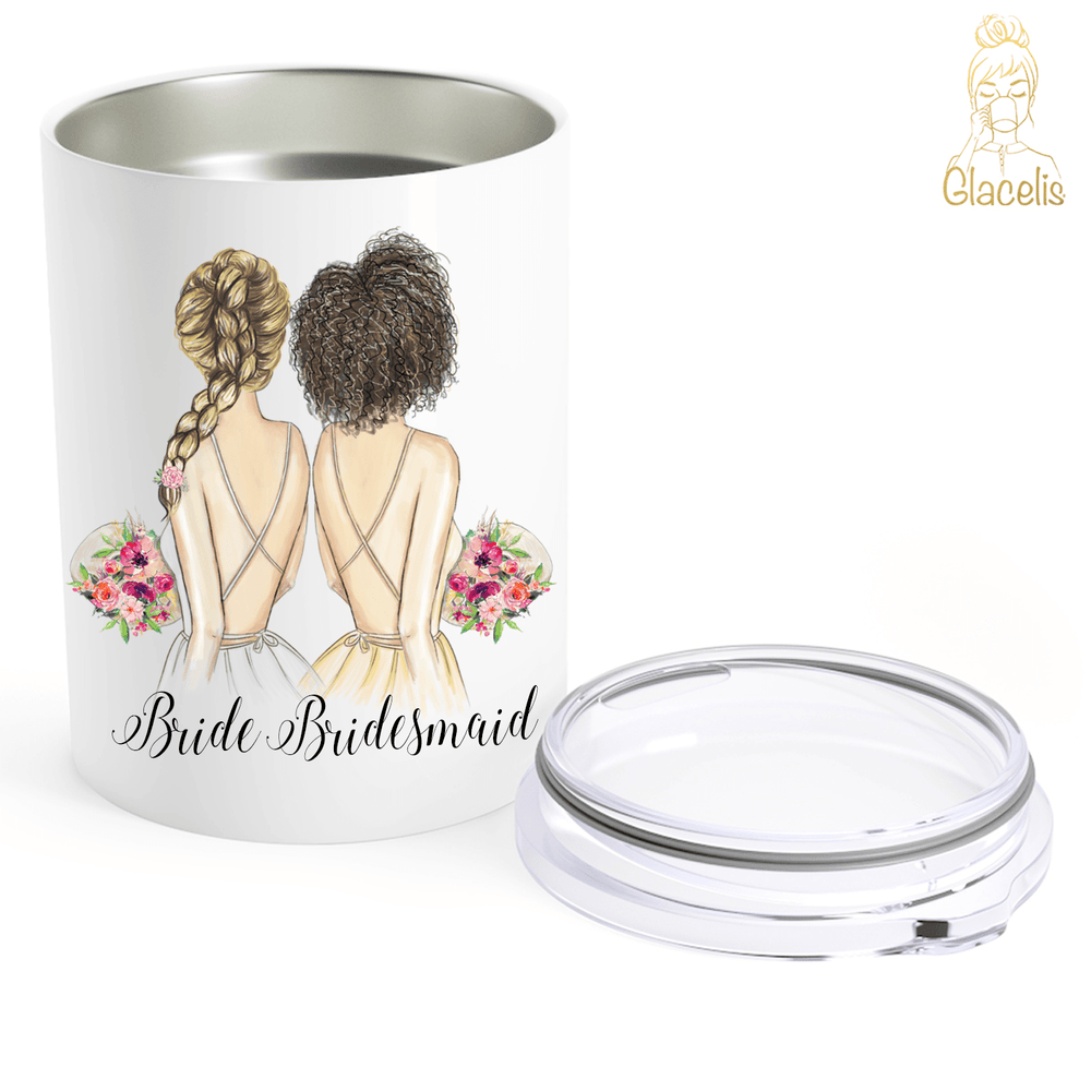 Personalized Will You Be My Bridesmaid Travel Mug