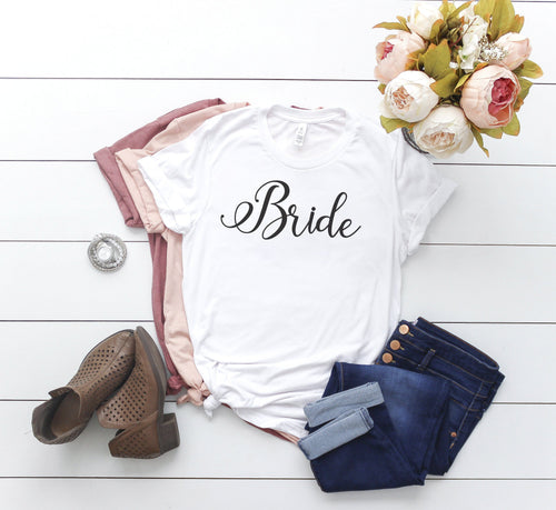 Bachelorette Party Shirts / Bride, Bridesmaid and Maid of Honor Shirt