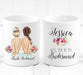 Personalized Bridesmaid Mug / Wedding party gifts - Custom Personalized Gifts for friends, Family & special occasions!