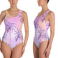 Cali Palm One Piece Swimsuit