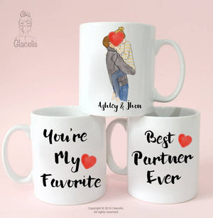 Valentine's Day gifts - Coffee Mug - Personalized Cup - Custom Personalized Gifts for friends, Family & special occasions!